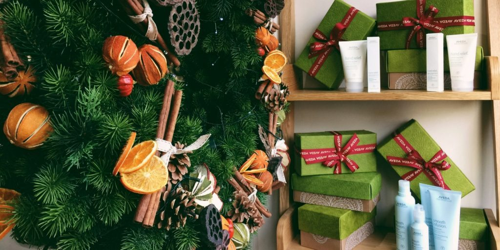Give the Gift of Aveda   Tribe Salons